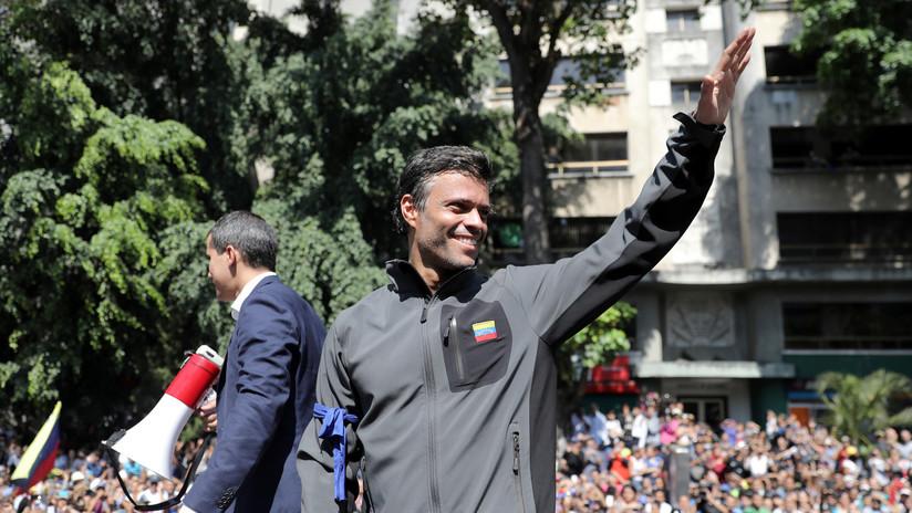 Corte venezolana ordena el arresto de Leopoldo López