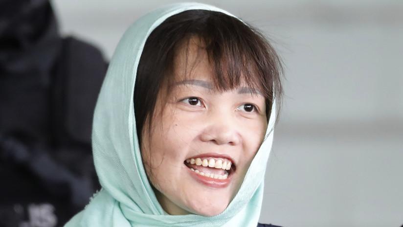 Malasia libera a la vietnamita acusada de matar al hermanastro de Kim Jong-un