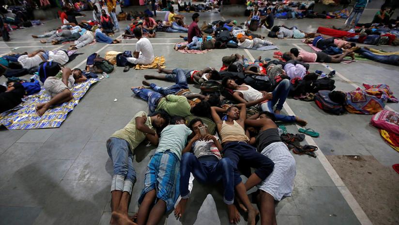 El ciclón Fani toca tierra en la India y provoca la evacuación de un millón de personas
