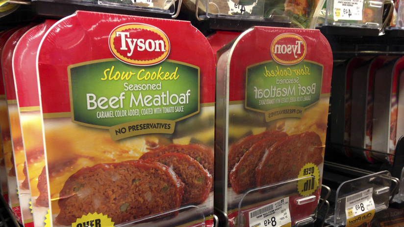 EE.UU.: Retiran 5.300 toneladas de pollo de la marca Tyson Foods porque pueden contener trozos de metal