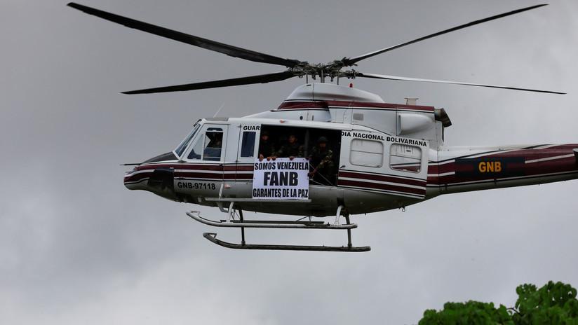 Siete militares venezolanos mueren al caer un helicóptero de las Fuerzas Armadas