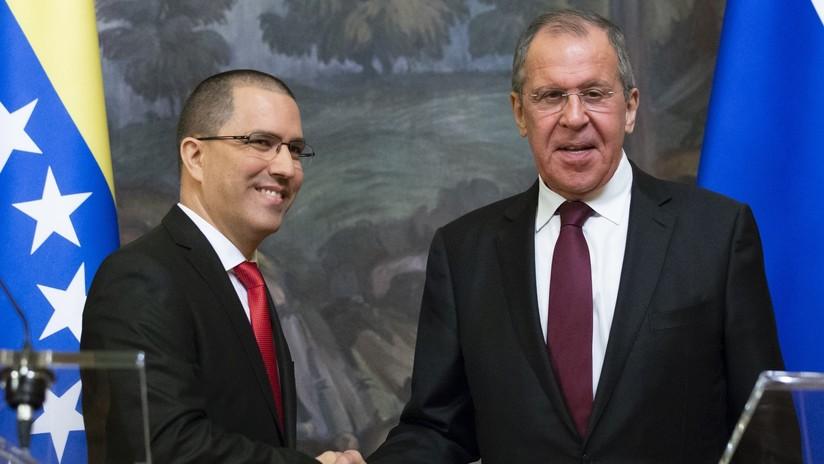 """Lavrov: """"Esperamos que EE.UU. entienda la humillación que para toda América Latina supondría el uso de la fuerza militar en Venezuela"""""""
