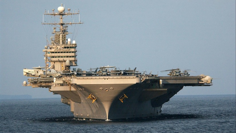 """EE.UU. despliega el portaviones USS Abraham Lincoln y su grupo de combate para """"enviar un mensaje claro a Irán"""""""
