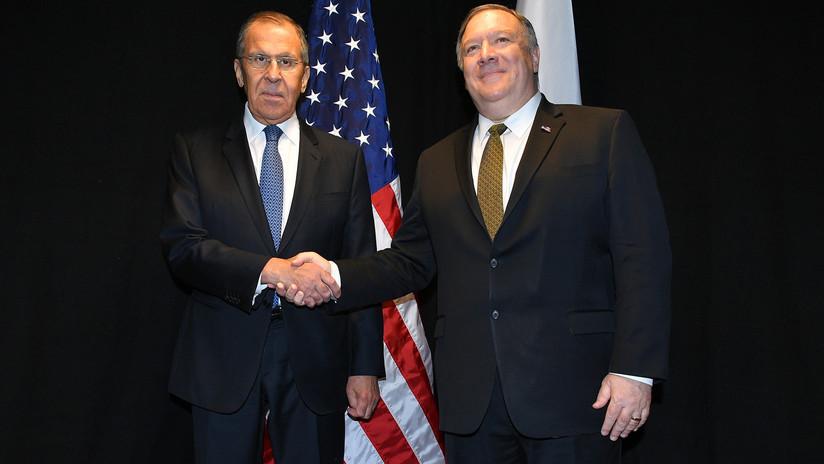 """Lavrov tras reunirse con Pompeo: """"No veo ni siquiera en EE.UU. a partidarios de una solución militar en Venezuela"""""""