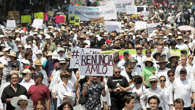 Resultado de imagen para protestas en mexico 2019