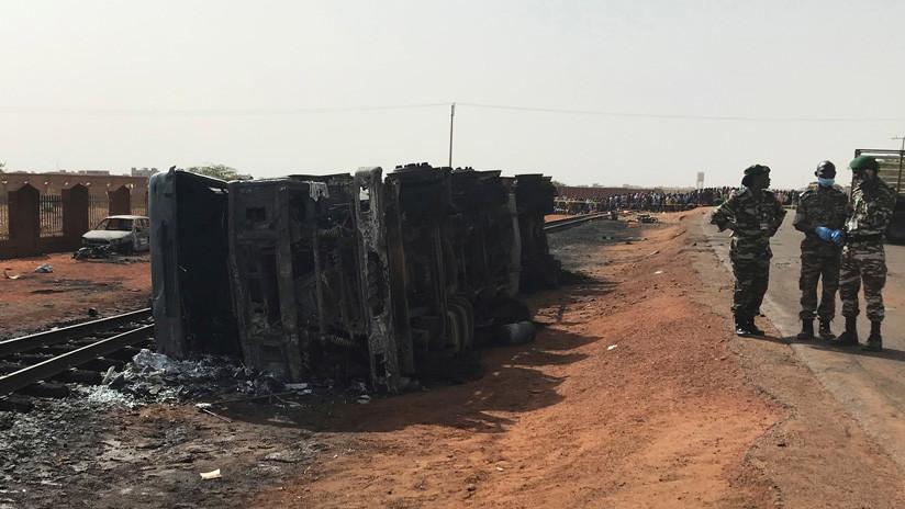 Al menos 58 muertos tras la explosión de un camión cisterna con gasolina en la capital de Níger