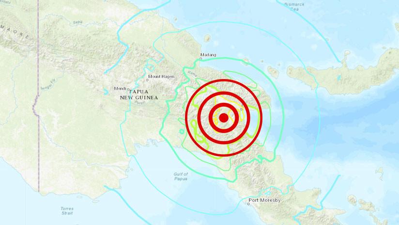Terremoto de magnitud 7,2 sacude Papúa Nueva Guinea y se siente en Australia