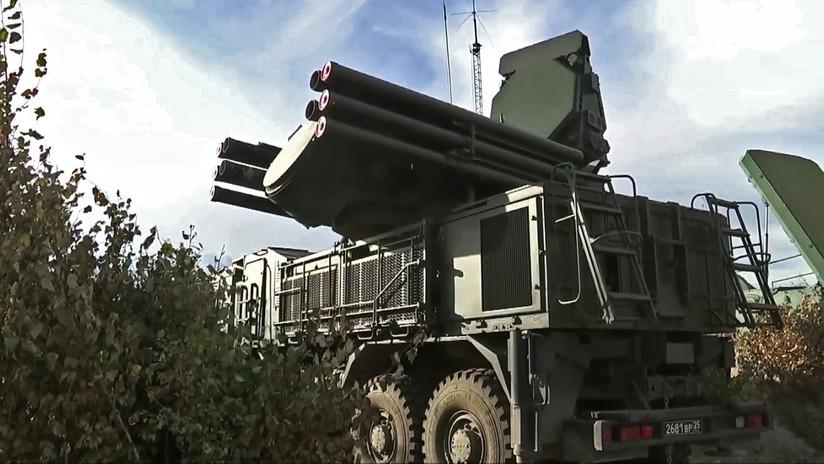 Los sistemas rusos Pántsir y Tor derribaron 27 proyectiles en el ataque contra la base Jmeimim en Siria