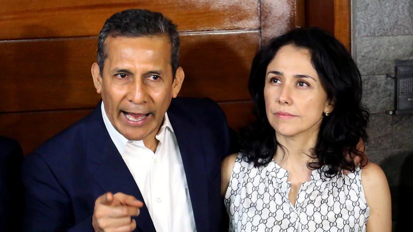 El expresidente peruano Humala y su esposa son acusados de lavado de activos en caso Odebrecht