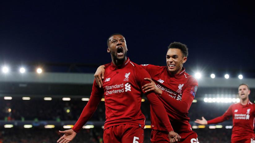 El Liverpool realiza una espectacular remontada y pasa a la final de la Liga de Campeones tras vencer al Barcelona por 4-3