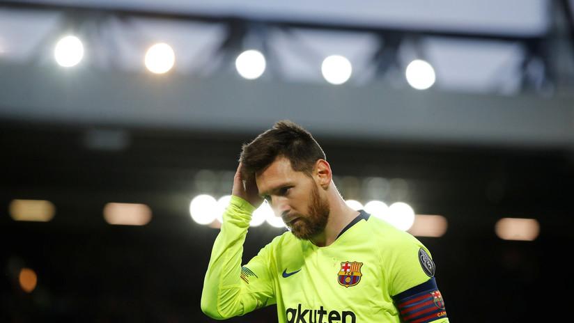 La Red no le perdona a Messi fracasar en el objetivo de llevar al Barcelona a la final de la Liga de Campeones