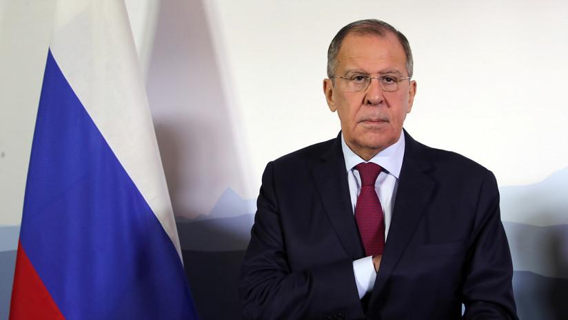 """Lavrov afirma que la situación en torno al pacto nuclear con Irán se complicó """"por las acciones irresponsables de EE.UU."""""""