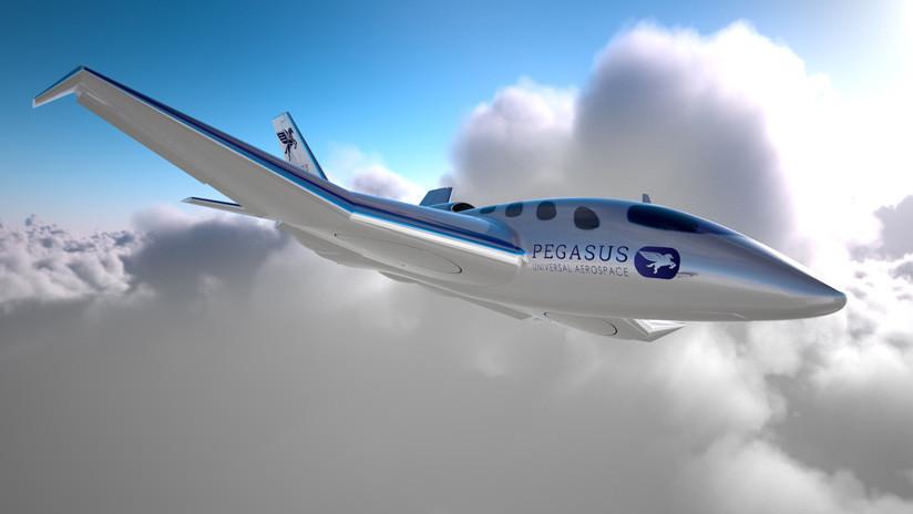 Sudáfrica desarrolla un avión comercial de despegue y aterrizaje vertical