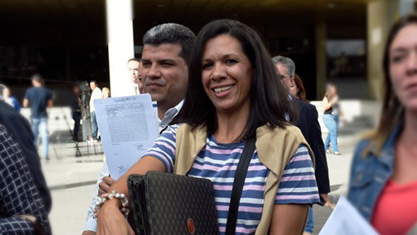 """Embajada de Italia en Venezuela acoge a diputada opositora señalada de """"conspiración y traición"""" por el Supremo"""