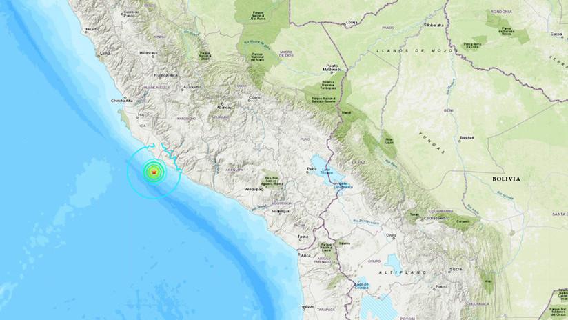 Región Ica fue remecida esta madrugada por sismo de magnitud 4.2
