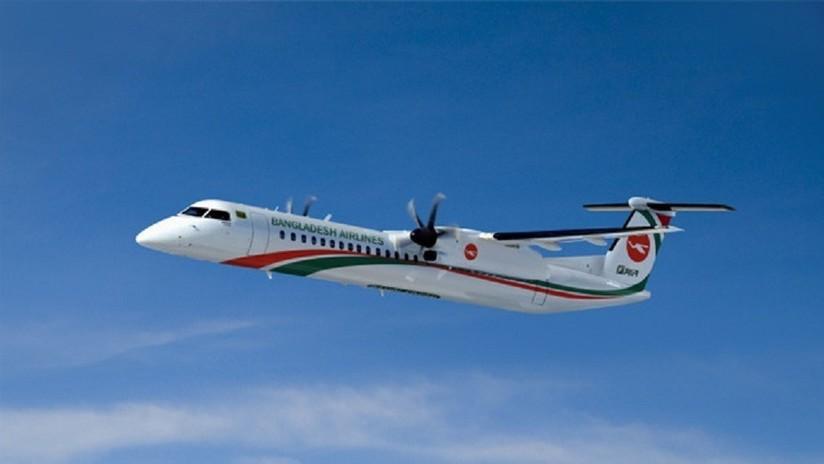 FOTOS: Un avión se sale de la pista, pierde las alas y se rompe en tres partes en un aeropuerto de Birmania
