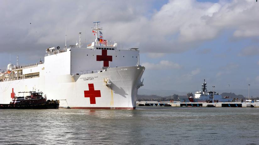 EE.UU. confirma el envío de un buque militar medicalizado a América Latina en medio de las tensiones con Venezuela