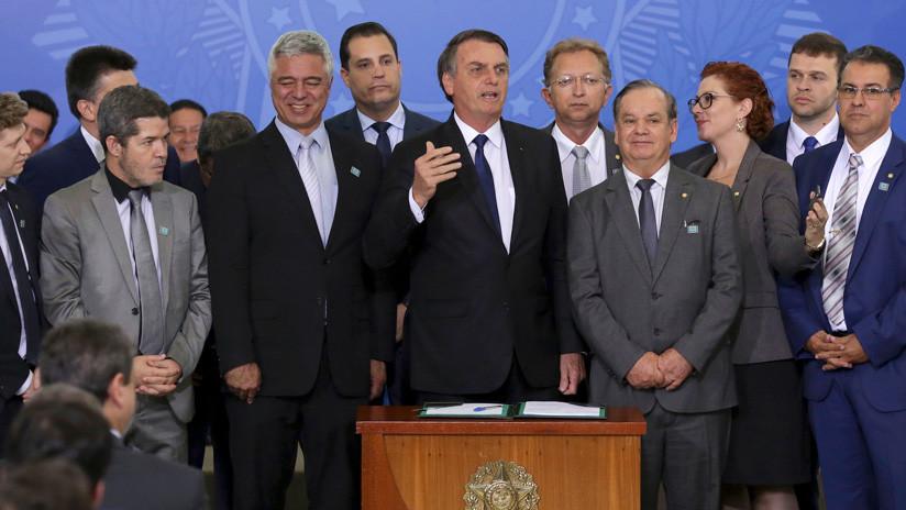 Se oficializa el polémico decreto de posesión de armas en Brasil: ¿Quién podrá portarlas?