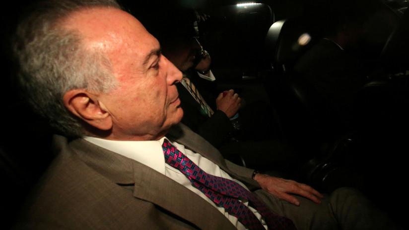 La Justicia brasileña ordena que el expresidente Michel Temer regrese a prisión
