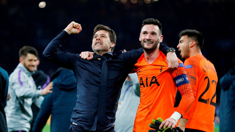 """""""Son héroes"""": Entrenador del Tottenham rompe a llorar luego que su equipo derrotara al Ajax en la semifinal de la Liga de Campeones (VIDEO)"""
