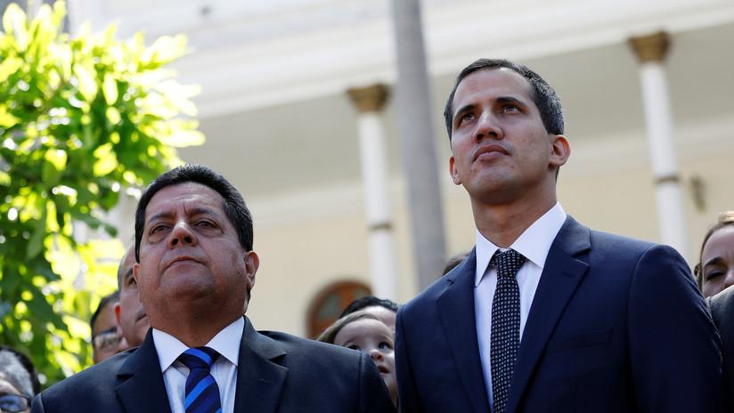 Venezolanos protestan contra el secuestro del vicepresidente de la Asamblea Nacional