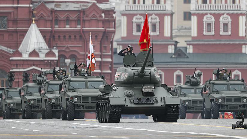 FOTOS, VIDEO: La Plaza Roja de Moscú acoge el gran desfile militar en honor al Día de la Victoria en la Gran Guerra Patria