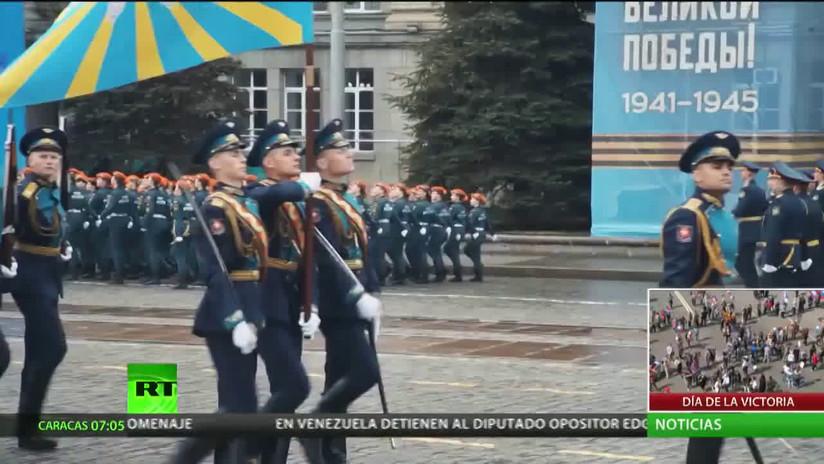 Así se vivieron los desfiles del Día de la Victoria en varias ciudades de Rusia