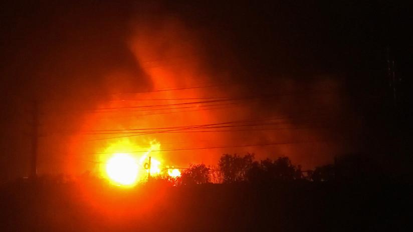 Reportan explosión de ducto de Pemex en Reforma, por presunto huachicoleo #Chiapas