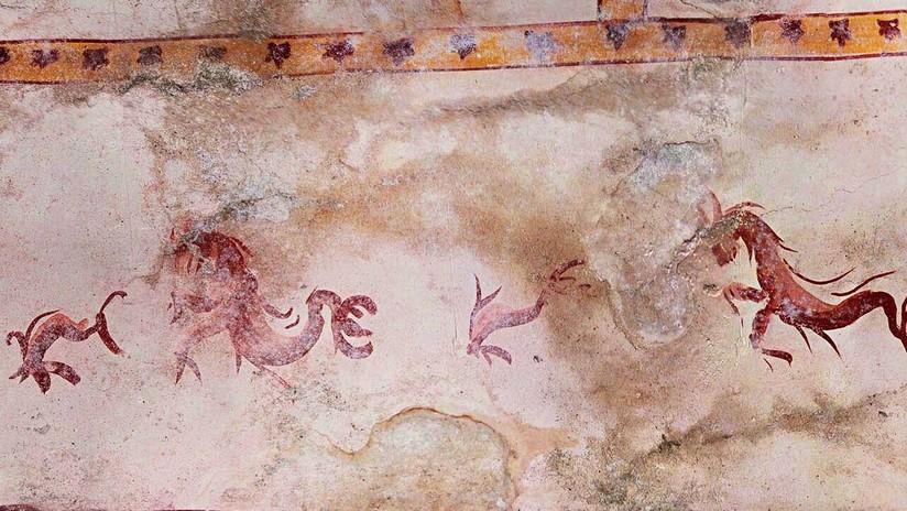 FOTOS: Arqueólogos en Roma dan con la 'Sala de la Esfinge' de Nerón, un tesoro oculto con 2.000 años de antiguedad