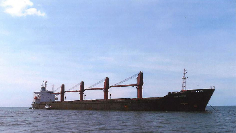 Incauta un buque norcoreano por violar las sanciones a Pionyang