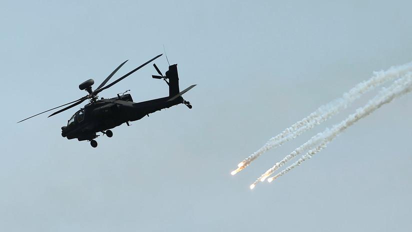 EE.UU. aprueba vender helicópteros Apache por 3.000 millones de dólares a Catar