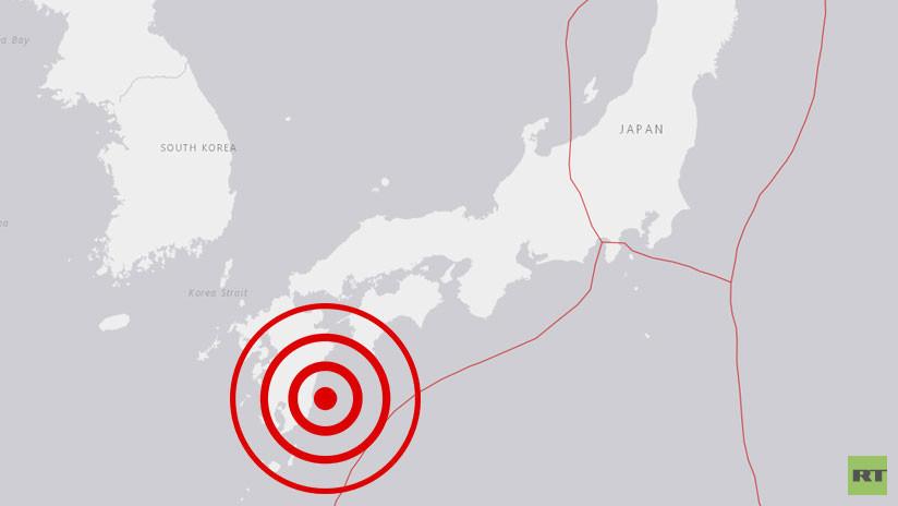 Impresionantes imágenes del sismo de 6.3 grados en Japón