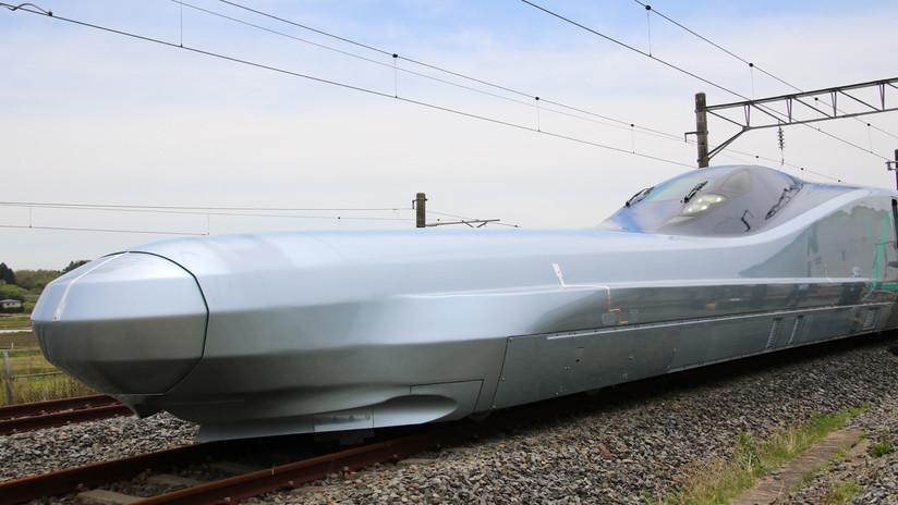 VIDEO: Japón presenta el prototipo terminado y listo para pruebas del tren bala que viaja a 360 km/h