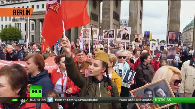 El Regimiento Inmortal reunió a más de 10 millones de personas en Rusia