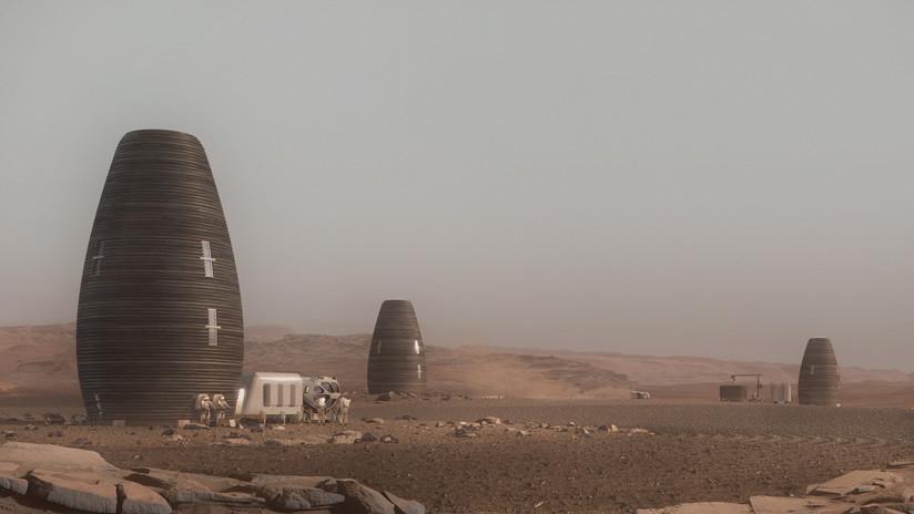 Una vivienda impresa en 3D gana el concurso de hábitats marcianos de la NASA