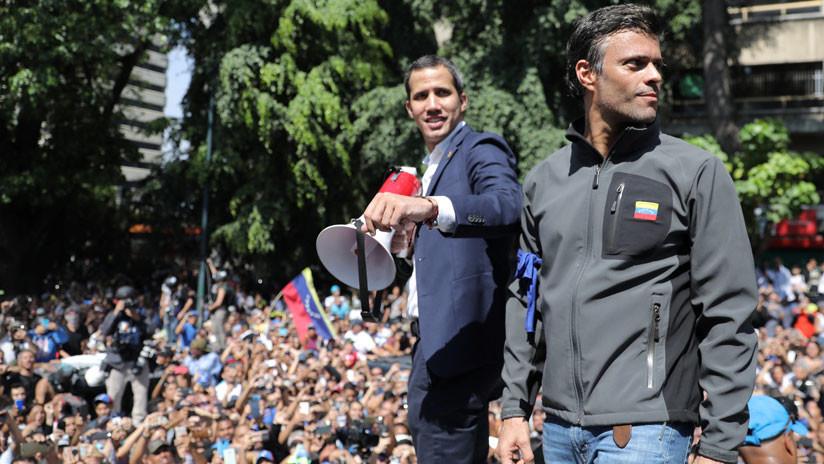 España confirma que Juan Guaidó y Leopoldo López se reunieron en embajada