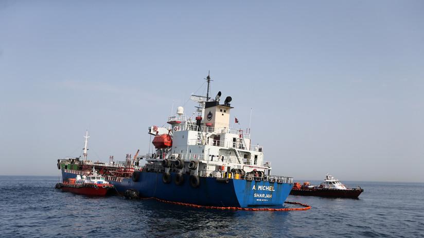 Funcionario de EE.UU.: Washington sospecha que Irán atacó a petroleros cerca de EAU, pero aún no puede probarlo