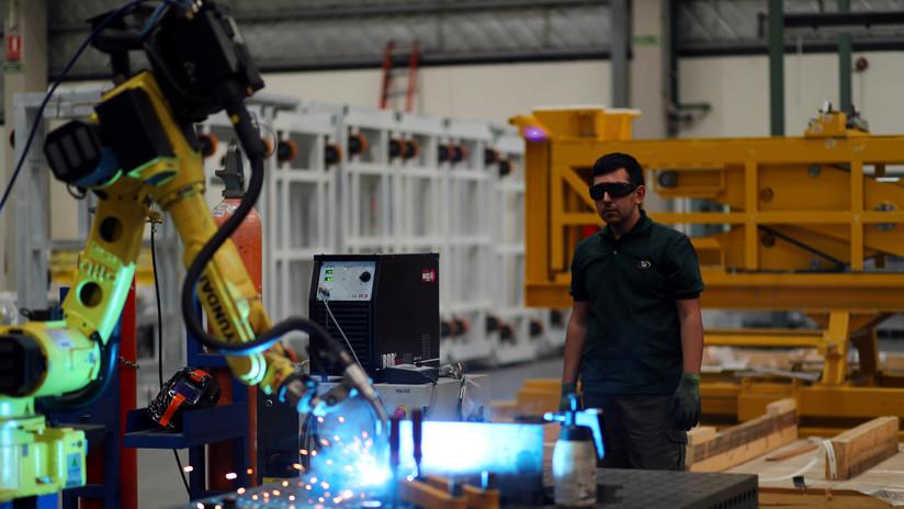 La industria argentina funciona a 57,7 % de su capacidad
