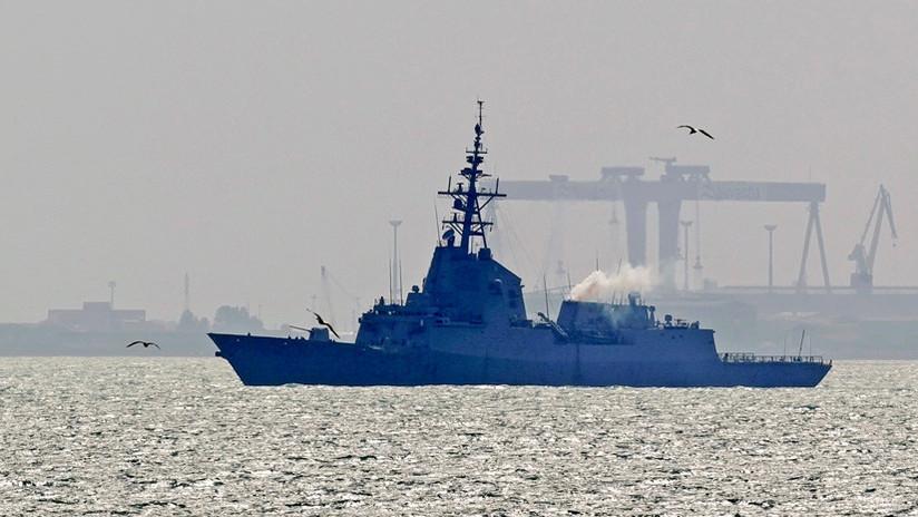 España retira su fragata del grupo de combate encabezado por EE.UU.