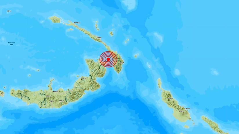 Terremoto de magnitud 7.7 sacude Papúa Nueva Guinea — ÚLTIMA HORA