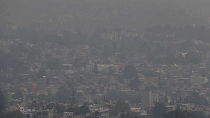 La NASA muestra la contaminación de México desde el espacio (FOTO)