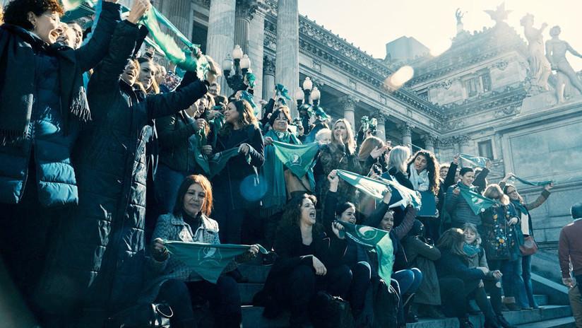 'Que sea ley': la lucha argentina por el aborto legal, seguro y gratuito llega a Cannes