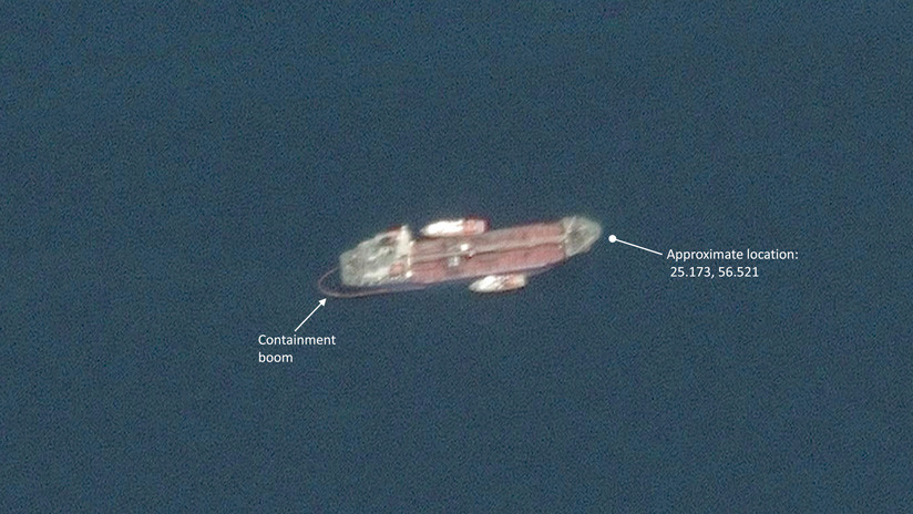 Fotos satelitales muestran que el 'sabotaje' en EAU no causó a los petroleros daño visible desde el espacio