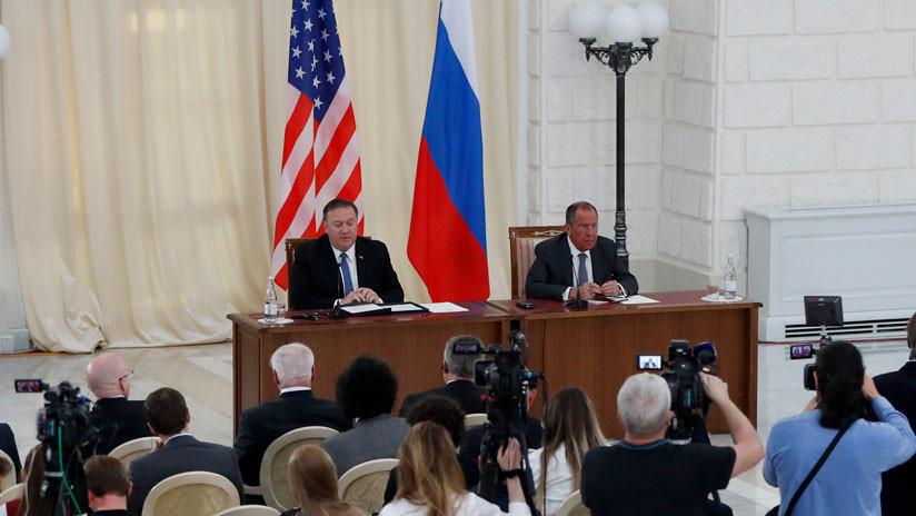 """Venezuela, Irán, """"injerencia rusa"""" y lucha antiterrorista: En qué (no) coincidieron Lavrov y Pompeo"""