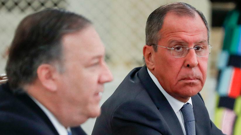 """Lavrov, sobre Venezuela: """"La democracia no se establece con la fuerza"""""""