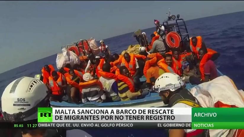 Malta sanciona con 10.000 euros al capitán de un barco de rescate alemán