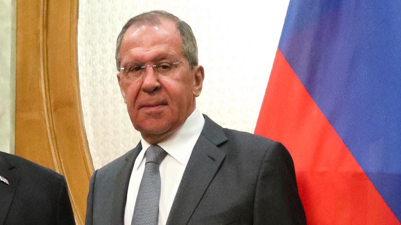 """Lavrov: EE.UU. destina 20 millones de dólares al año para """"promover la democracia en Rusia"""""""