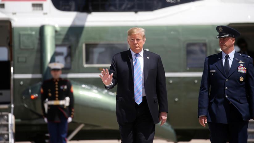 """""""Enviaría muchas más tropas que eso"""": Trump niega el traslado de 120.000 soldados para contrarrestar a Irán"""