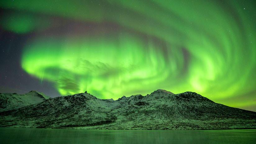 Intensas auroras boreales: Primeras señales de la tormenta solar que azota la Tierra (FOTOS)