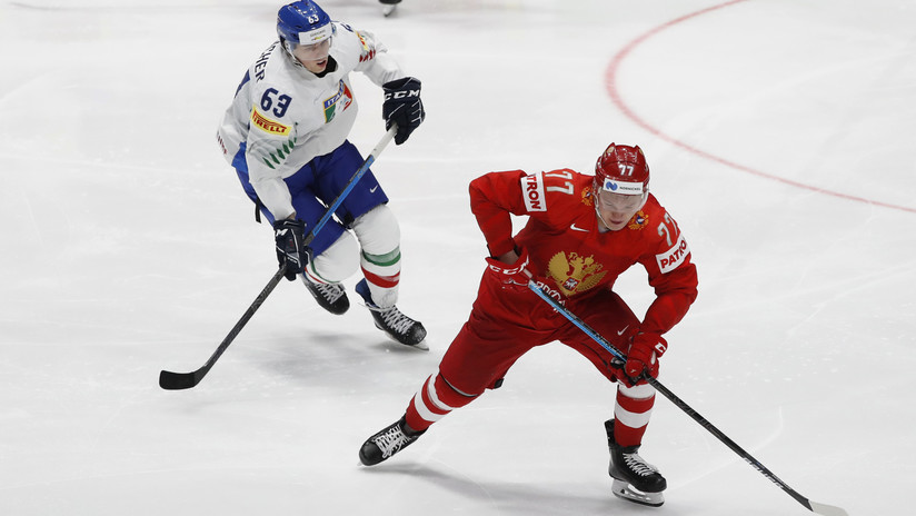 La selección de hockey de Rusia gana a Italia por 10:0, la victoria más abultada de su historia
